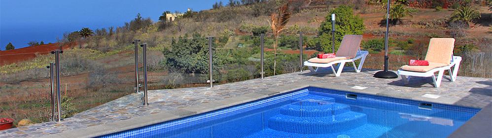Casa La Viña - Ferienhaus mit Pool in Puntagorda | La Palma Travel